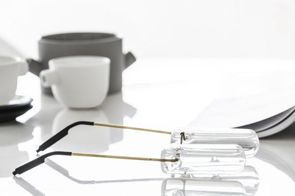 Eyeglasses by designer Ohad Benit Photo 15 of White Space in the White City modern home