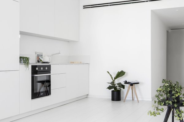 View of the Kitchen Photo 16 of White Space in the White City modern home