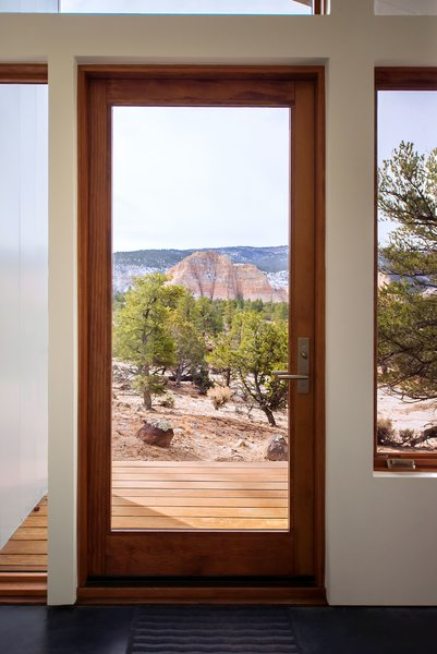 Main House - Patio Door Photo 3 of Capitol Reef modern home