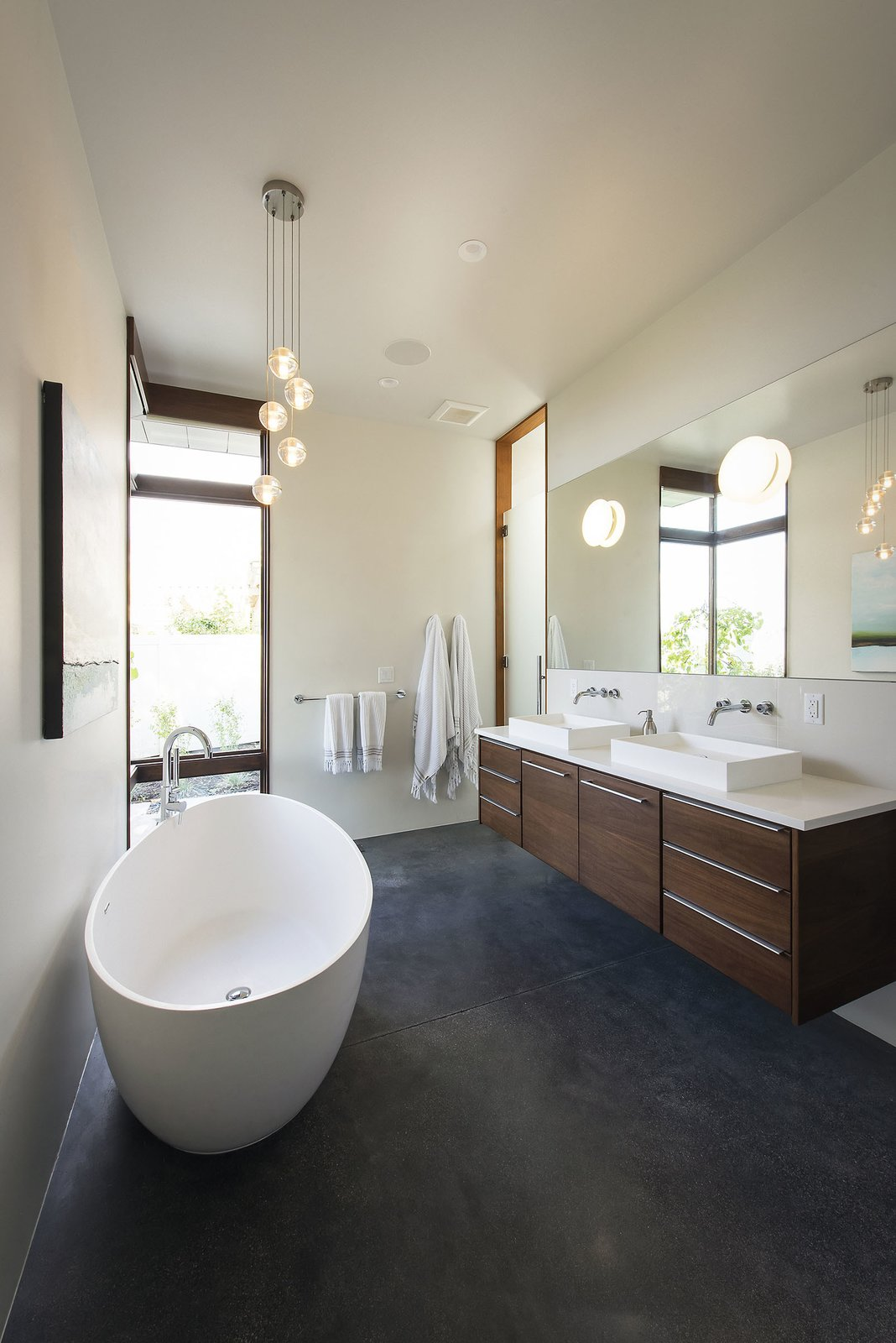 Master Bathroom  Rock Canyon Residence by Imbue Design