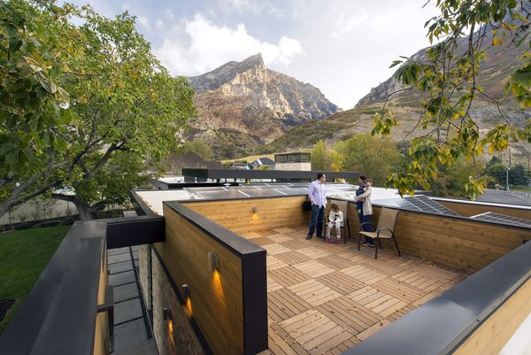 Roof Top Deck Photo 11 of Rock Canyon Residence modern home