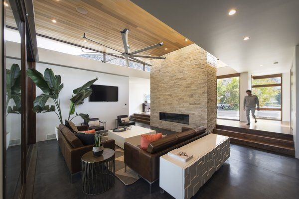 Living Room Photo 9 of Rock Canyon Residence modern home