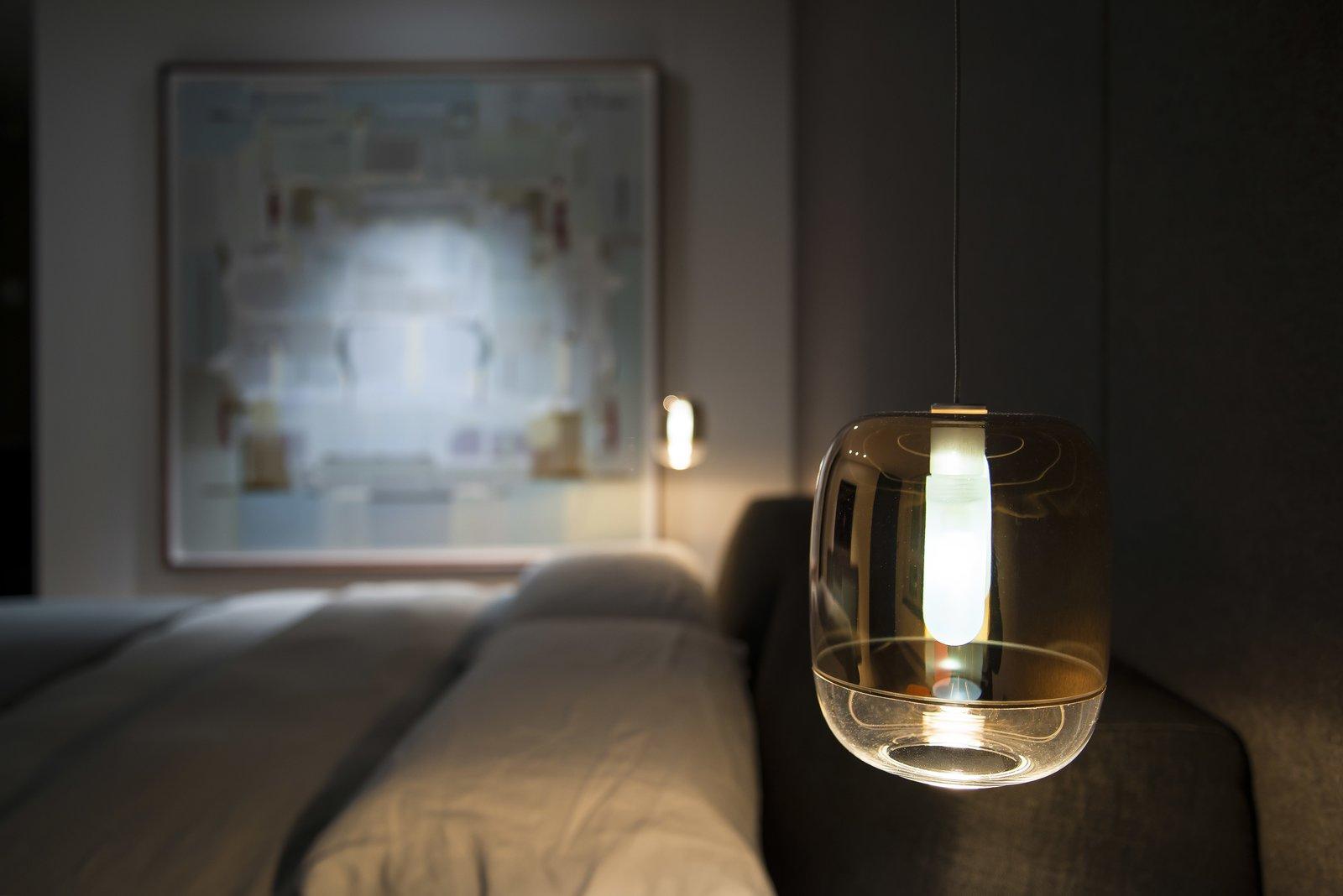 Master Bedroom - Reading Light  Nob Hill Residence by Imbue Design