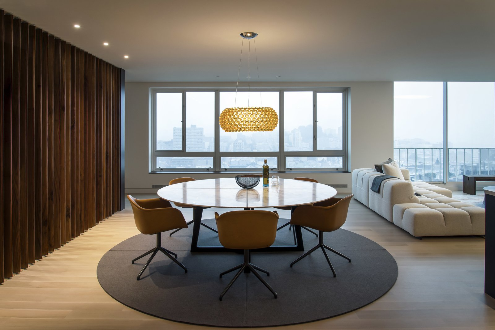 Dining Room - San Francisco Fog  Nob Hill Residence by Imbue Design