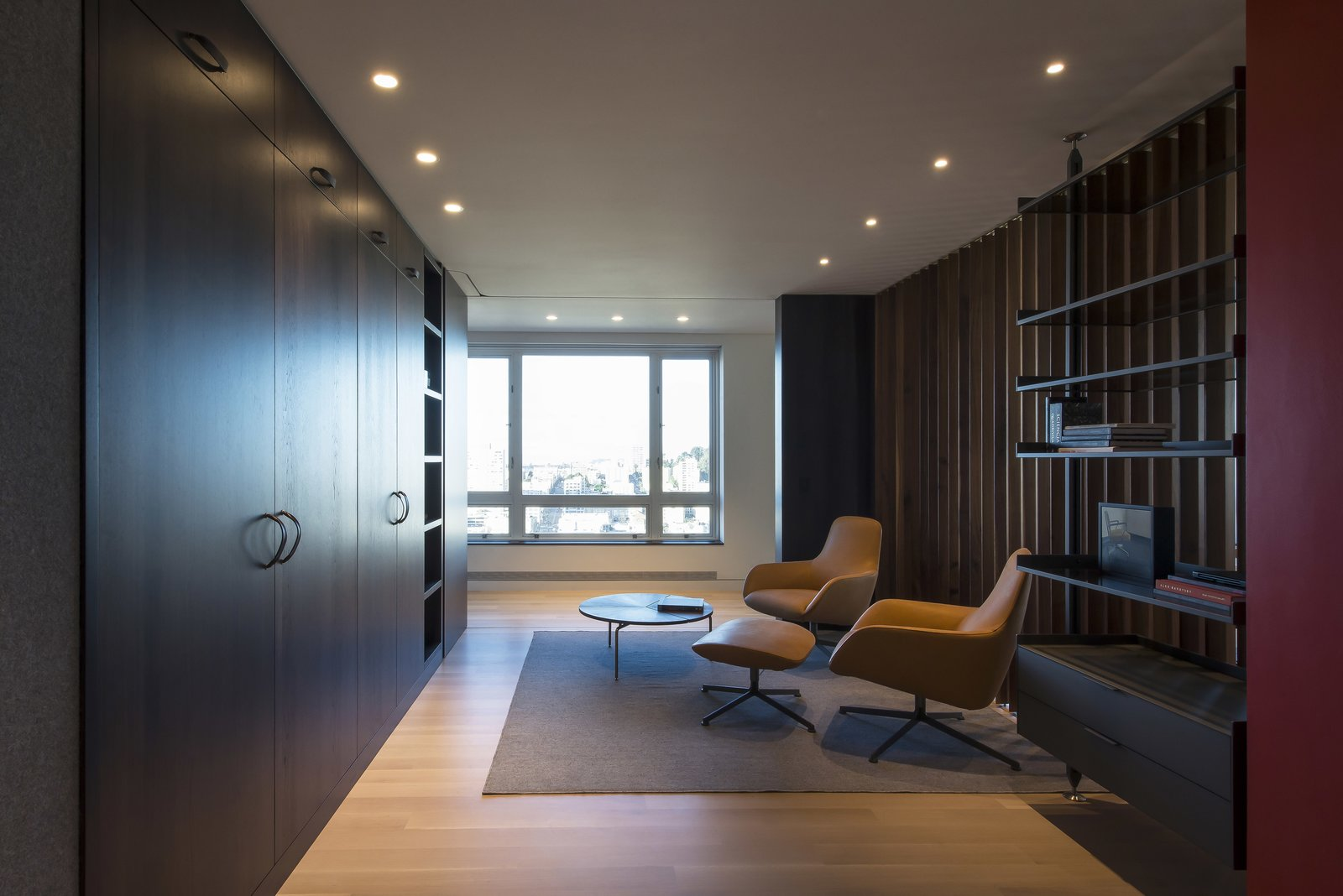 Office - Open  Nob Hill Residence by Imbue Design