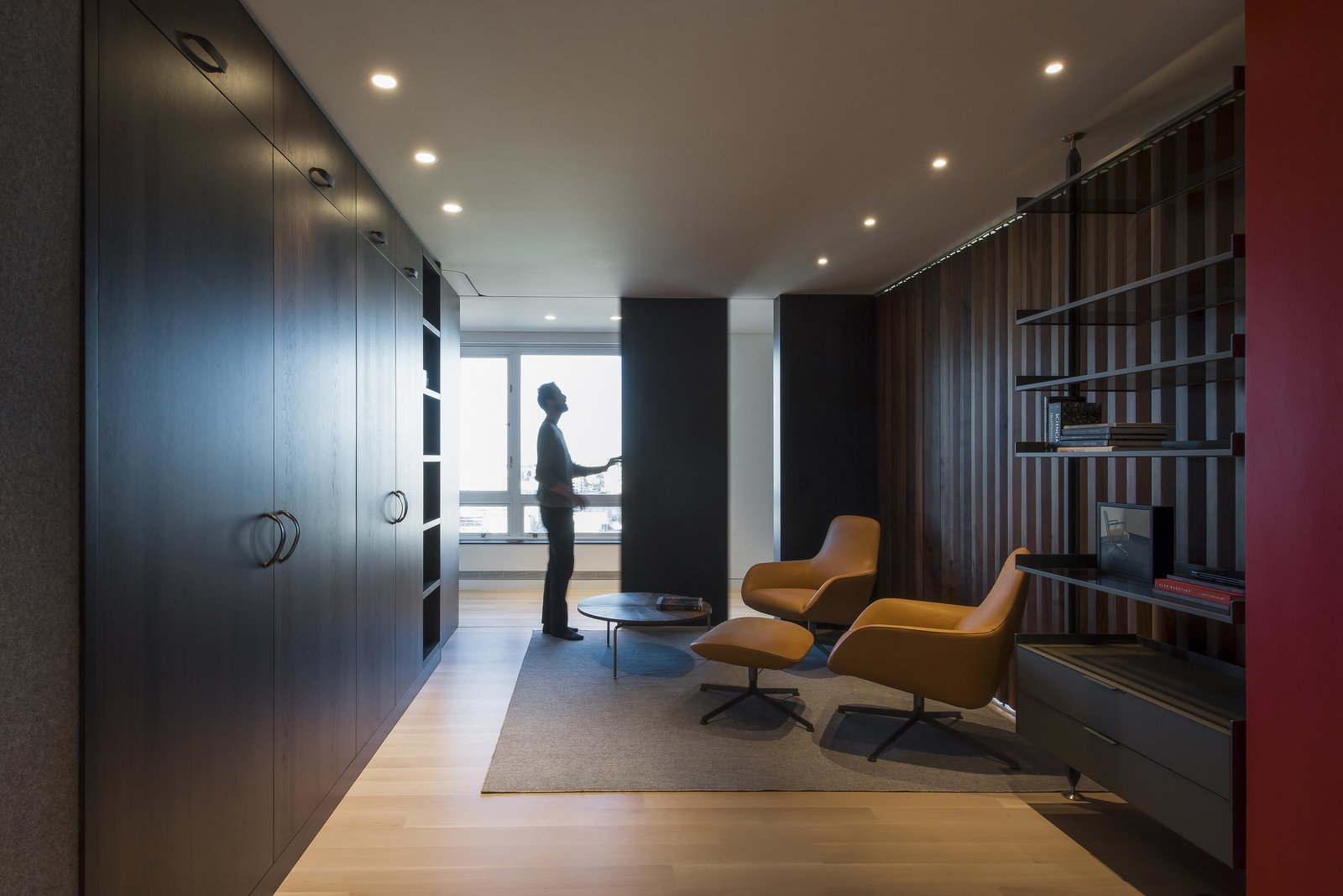 Office - Closing Down  Nob Hill Residence by Imbue Design