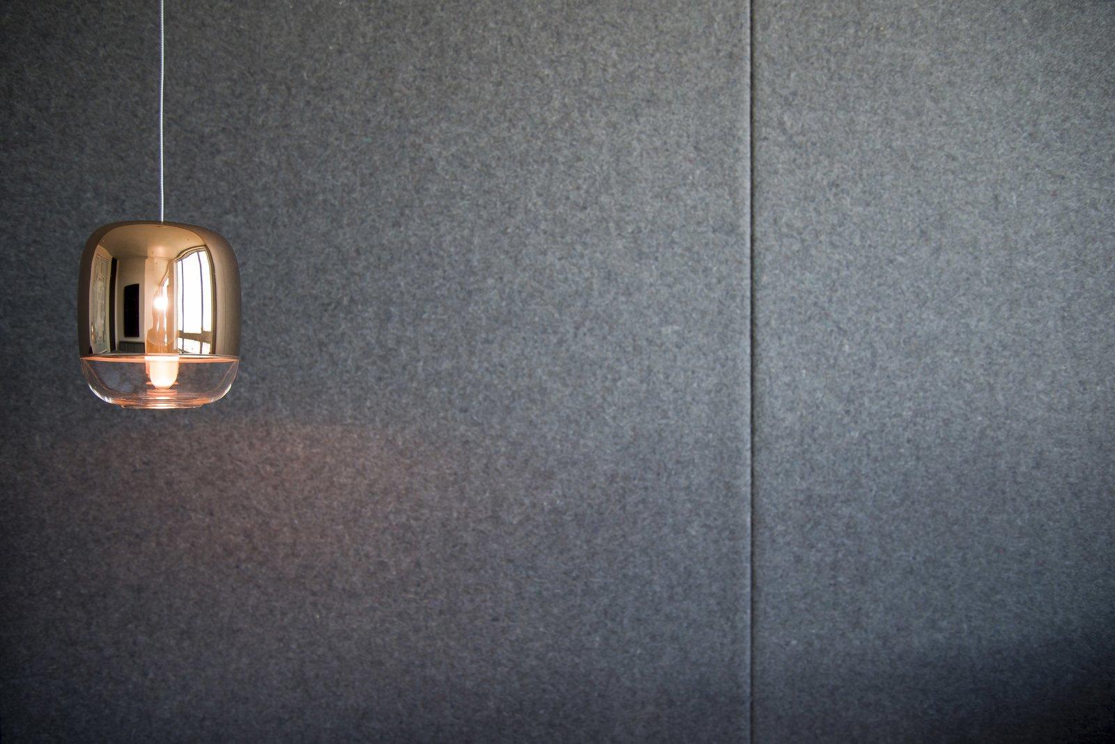 Master Bedroom - Felt Wall Detail