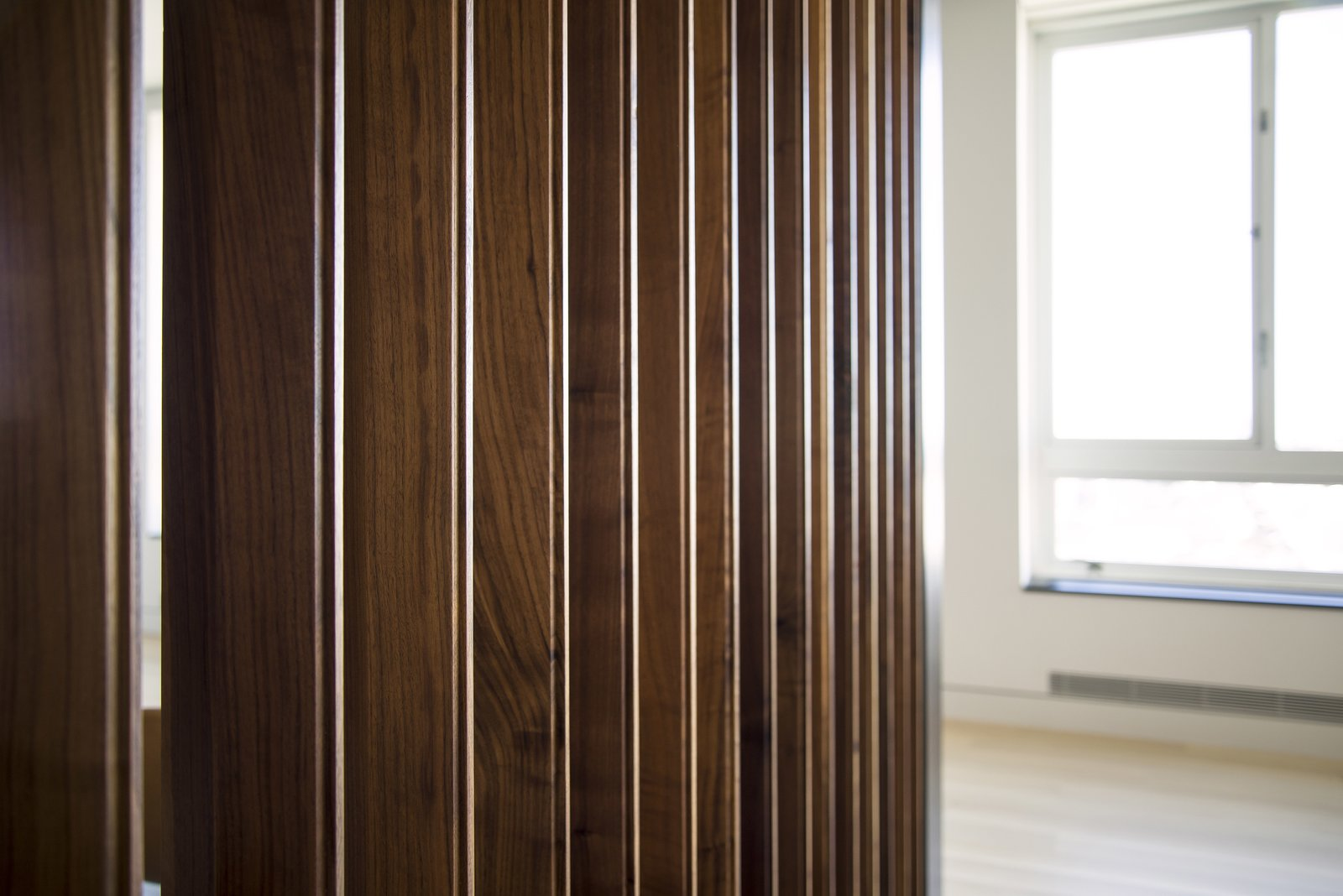 Louver Wall Detail  Nob Hill Residence by Imbue Design