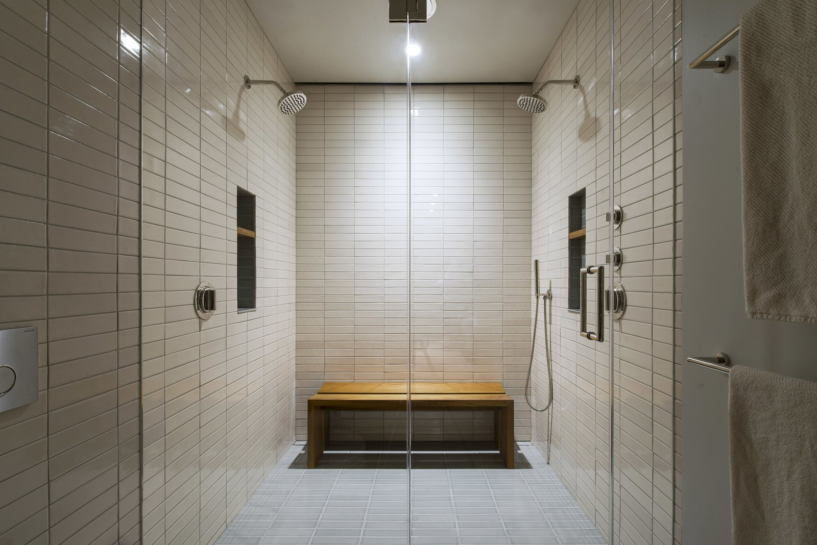 Master Bathroom - Shower  Nob Hill Residence by Imbue Design