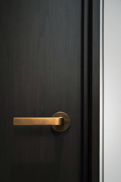 Office - Oil Rubbed Bronze Door Hardware Photo 17 of Nob Hill Residence modern home
