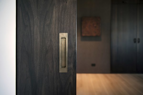 Office - Pocket Door Detail Photo 19 of Nob Hill Residence modern home