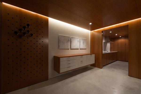 Tasting Room + Kitchenette Photo 5 of Utah Wine Cellar modern home