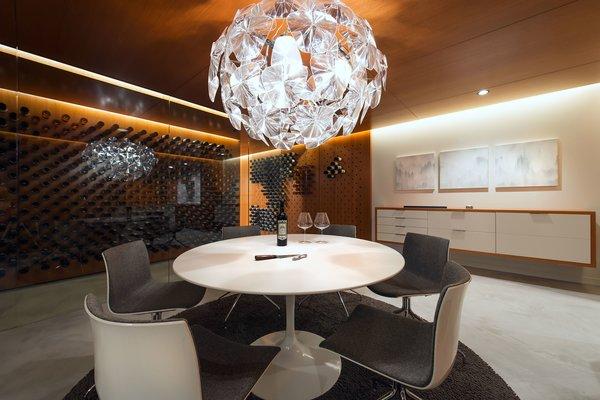 Tasting Room with Wine Storage Display Photo 3 of Utah Wine Cellar modern home