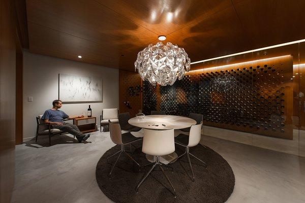 Tasting Room with Wine Storage Display Photo 7 of Utah Wine Cellar modern home