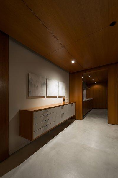 Tasting Room + Kitchenette Photo 10 of Utah Wine Cellar modern home