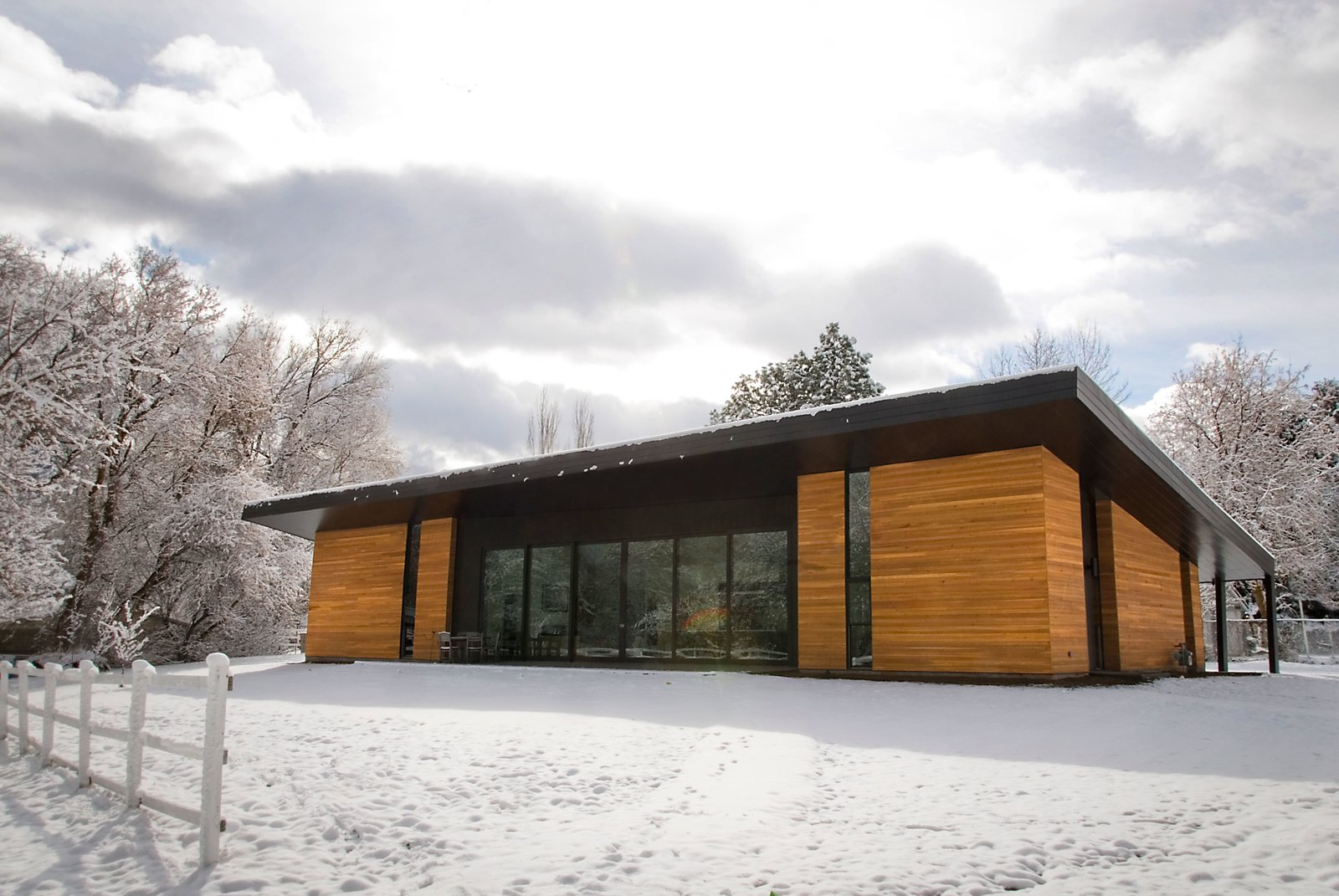 North Facade  Pasture Project by Imbue Design