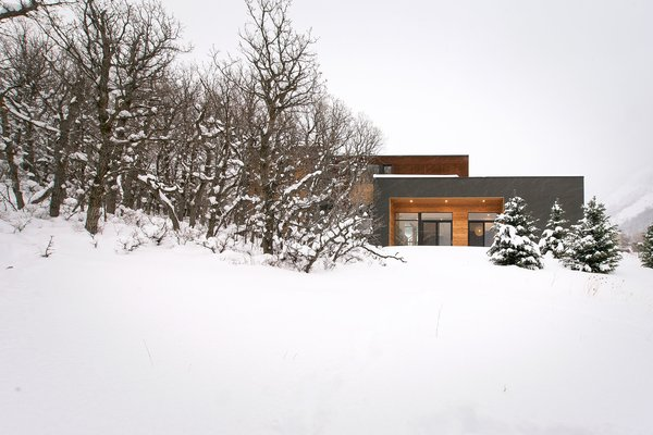 West Facade Photo  of Emigration Canyon modern home