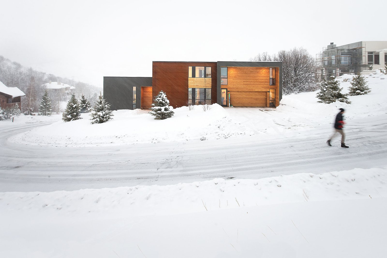 East Facade  Emigration Canyon by Imbue Design