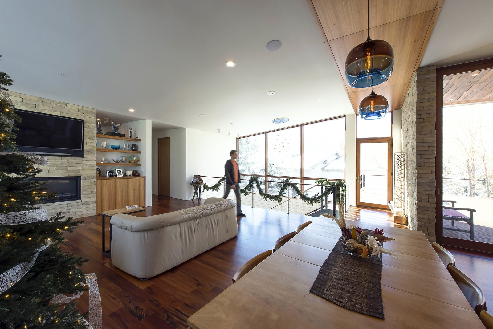 Great Room - Looking Toward Living Room  Lucky John Home by Imbue Design