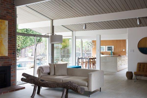 Eichler Living Room Photo 3 of Northern California Eichler modern home
