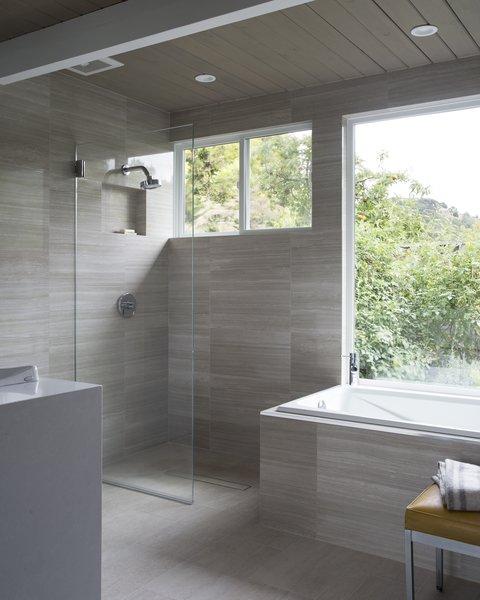 Renovated Eichler Master Bathroom Photo 5 of Northern California Eichler modern home