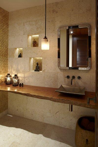 Guest Bathroom Photo 4 of Oahu Beachfront Residence modern home