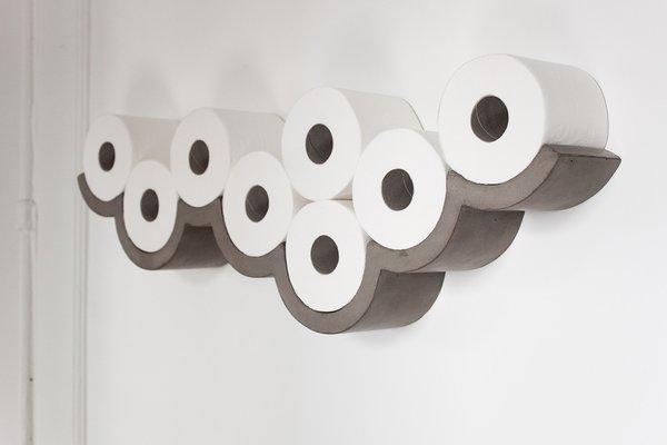 Cloud Toilet Paper Holder