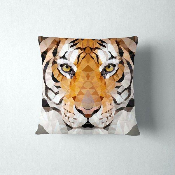 Geometric Cat Pillowcases