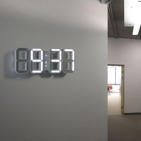 White & White Clock
