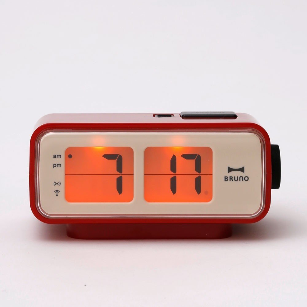 Retro digital flip clock by generate design dwell for Cool nightstand clocks