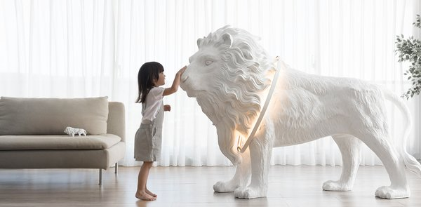 Lion X Floor Lamp
