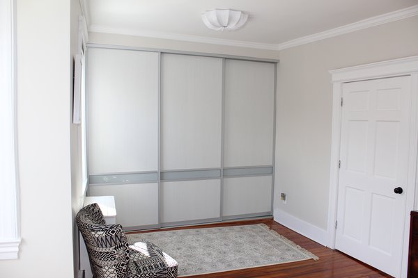 After. Full wall closet. Photo 2 of Master Bedroom Remodel modern home