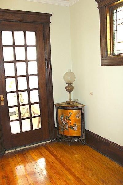 Front entrance door. Photo 7 of Das Backsteinhaus modern home