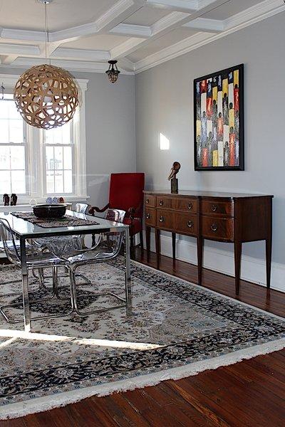 Dining room. Photo 11 of Das Backsteinhaus modern home