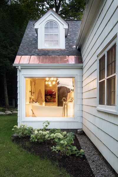 Exterior view of Master Bathroom Photo 5 of Homeland Estate modern home
