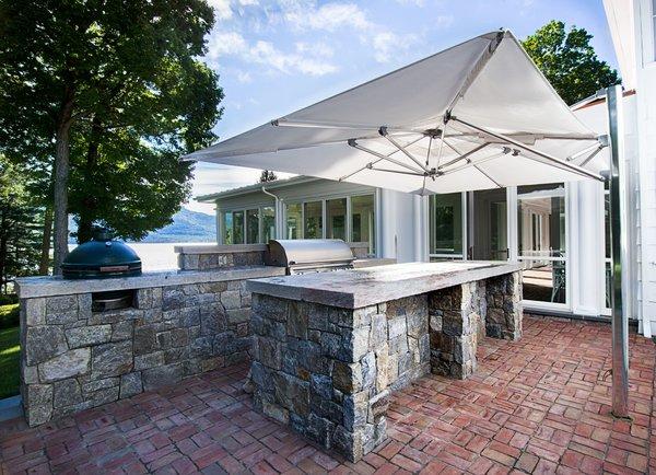 Outdoor Kitchen Photo 6 of Homeland Estate modern home