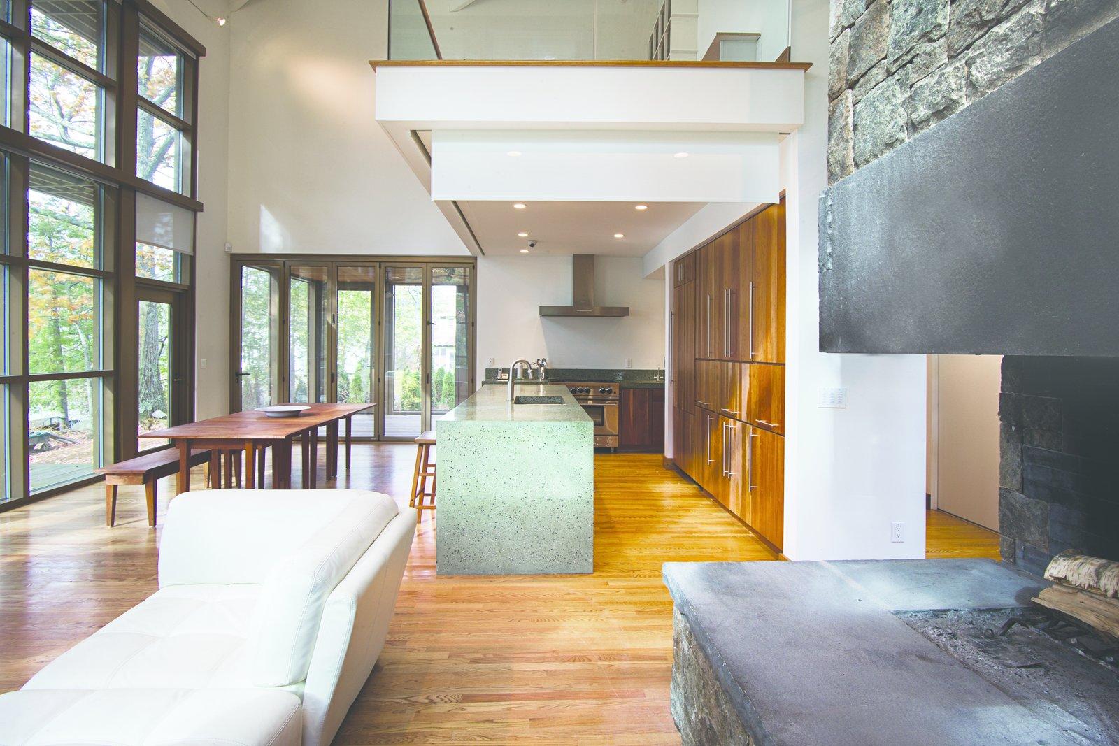 Modern Adirondack Retreat by Phinney Design Group