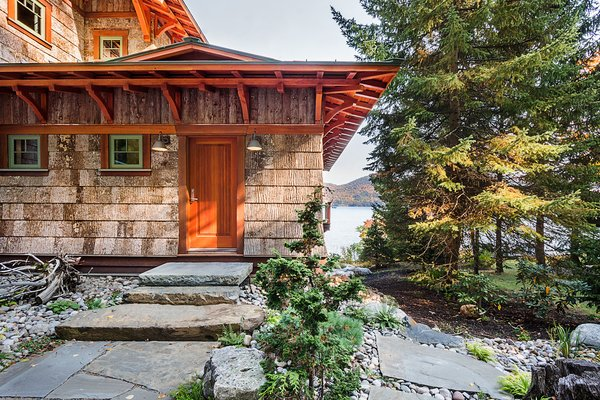 Photo 3 of East Meets West in the Adirondacks modern home