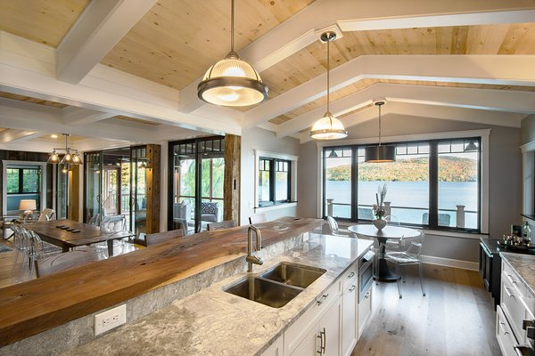 Photo 12 of East Meets West in the Adirondacks modern home