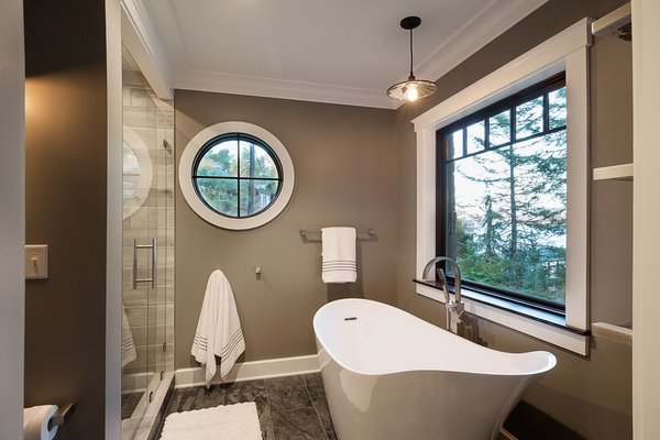 Photo 13 of East Meets West in the Adirondacks modern home