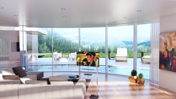LIVING of our house MIAMI  Photo  of MIAMI modern home