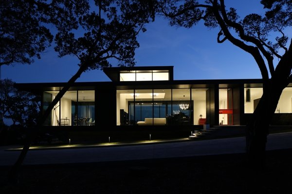 Front elelvation of The Stig.   Photo  of The Stig modern home