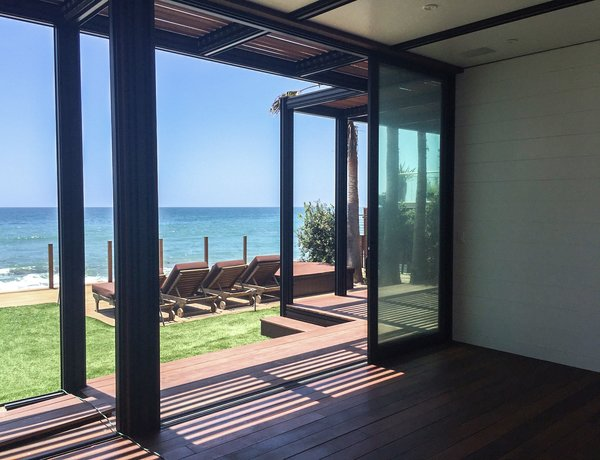 View from main room Photo  of The Surfer's Dream modern home