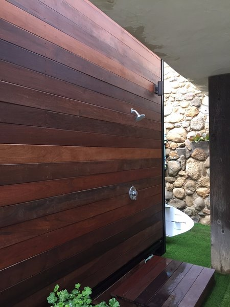 Outdoor shower Photo 6 of The Surfer's Dream modern home