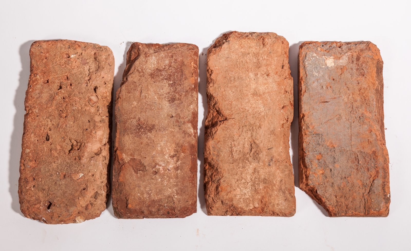 Vintage Bricks thin brick tiles - genuine reclaimed from salvaged bricks www.VintageBricks.com  Photo 5 of 10 in Revealing the Pros and Cons of Exposed Brick and How to Take Care of It