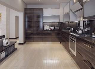 Select perfect flooring to give a new look to your kitchen - Photo 1 of 3 - Kitchen Flooring