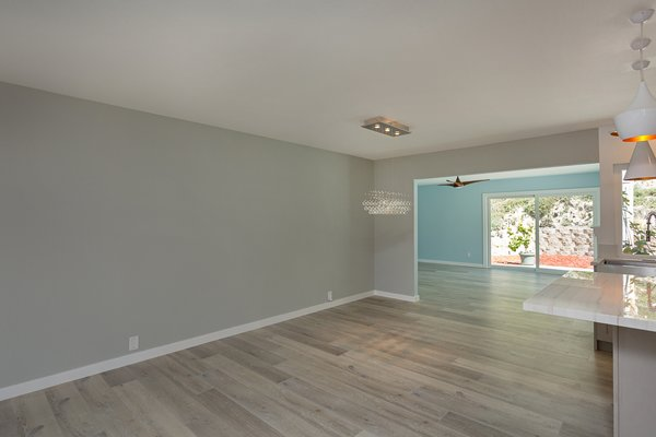 Modern home with dining room and ceiling lighting. The dining room Photo 6 of Briarwood Place