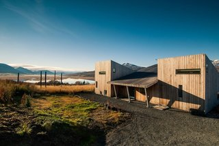 Get Back to Basics by Staying at One of These Modern Cabins - Photo 2 of 10 - In Vaðlaheiði near Akureyri, the capital of North Iceland, these three modern cabins place you in the midst of nature, where you can watch the Northern Lights in the winter, and the midnight sun in summer.