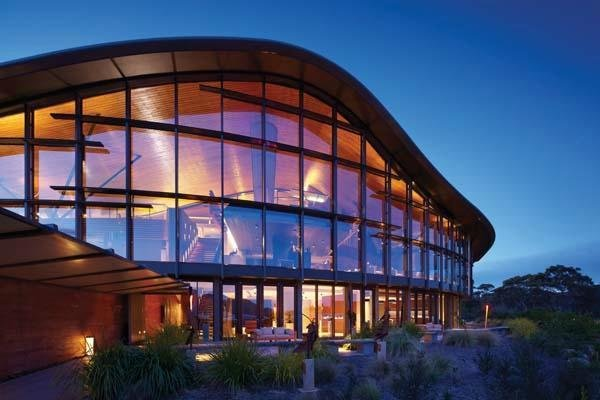 Photo 7 of 10 in This Modern Tasmanian Resort  Reflects the Natural Forms Surrounding It