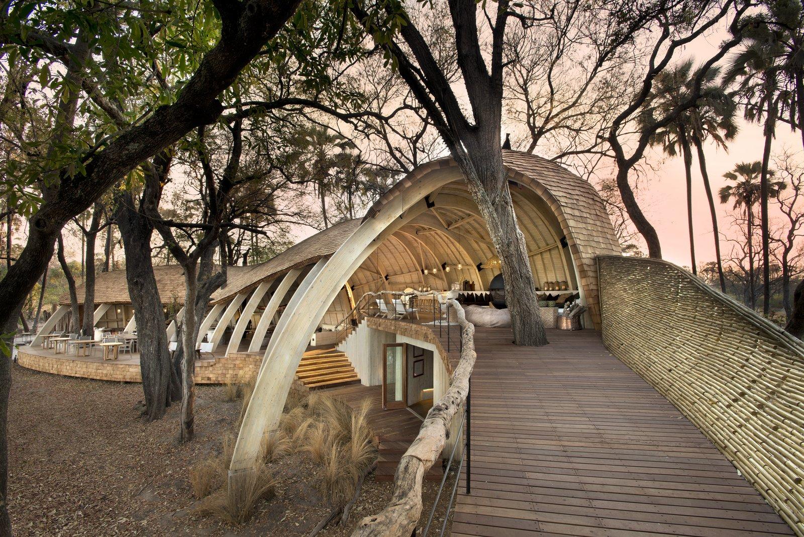 Photo 3 of 13 in Eco-Friendly Safari Lodge in Africa's Okavango Delta